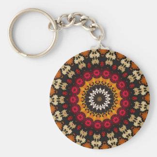 Tribal Southwest Vintage Boho pattern Keychain