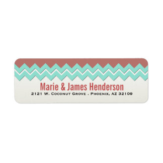 Tribal Southwestern Return Address Label