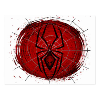 Tribal Spider Post Card
