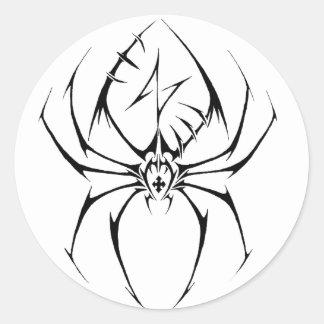 Tribal Spider Tattoo Design Sticker
