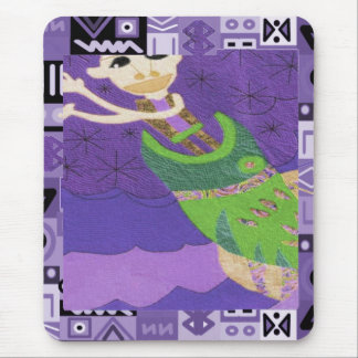 Tribal spirit  - Aftrican Art Mouse Pad
