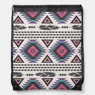 Tribal Spirit Drawstring Bag