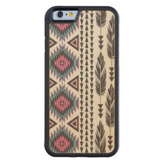 Tribal Spirit Maple Wood iPhone 6 Case Carved® Walnut iPhone 6 Bumper