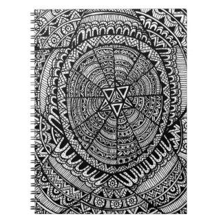 Tribal Star Notebook