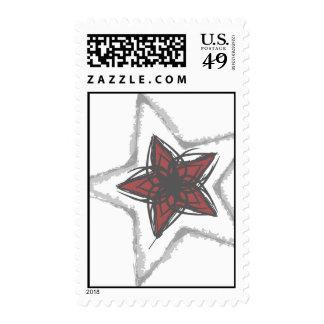 Tribal Star Stamp
