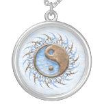 Tribal Stone & Water Yin Yang Necklace