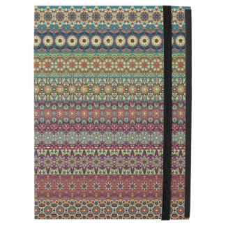 "Tribal striped abstract pattern design iPad pro 12.9"" case"