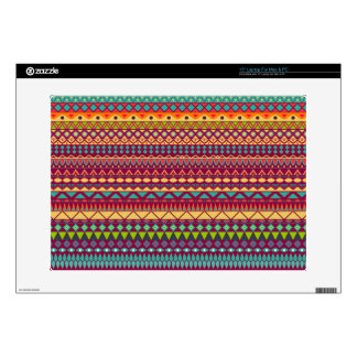 """Tribal striped abstract pattern design skin for 15"""" laptop"""