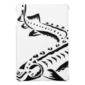 Tribal Sturgeon - Huso Beluga iPad Mini Cases