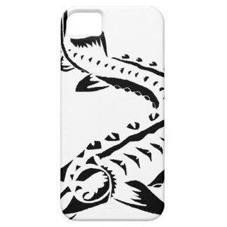 Tribal Sturgeon - Huso Beluga iPhone SE/5/5s Case