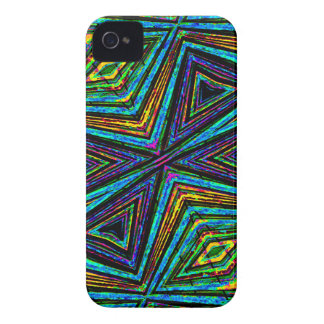 Tribal Style Colorful Geometric Pattern iPhone 4 Covers