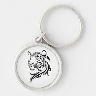 Tribal Style Tiger Key Chains