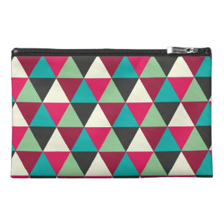Tribal Style Triangles Geometric Pattern Travel Accessories Bags