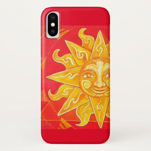 Tribal Sun iPhone X Case