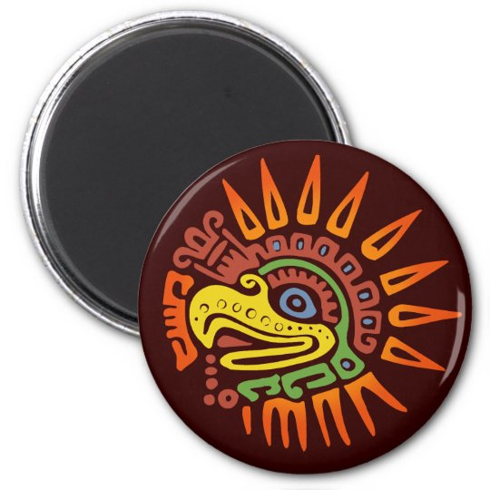 Tribal Sun Eagle Magnet