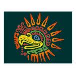 Tribal Sun Eagle Post Card