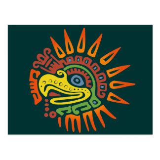 Tribal Sun Eagle Postcard