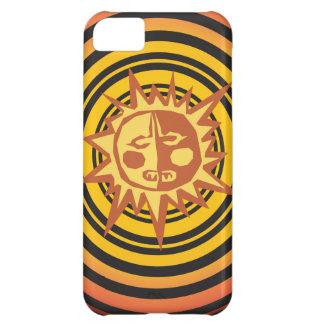 Tribal Sun Primitive Caveman Drawing Pattern iPhone 5C Cases