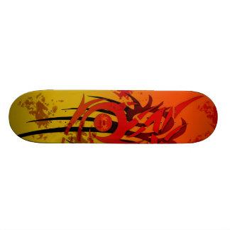 Tribal Sunset - Custom Skateboard