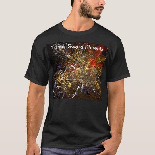 Tribal sword Phoenix T-Shirt