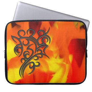 Tribal Symbol 5 Computer Sleeves