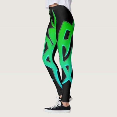 Tribal Symbol 6 Leggings