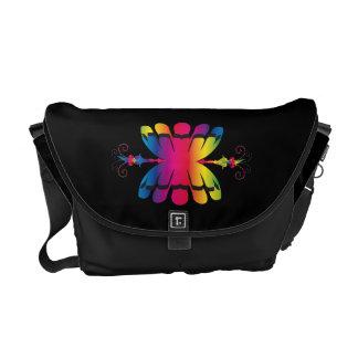 tribal symbol messenger bag