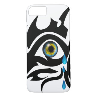 Tribal symbol with iris iPhone 7 case