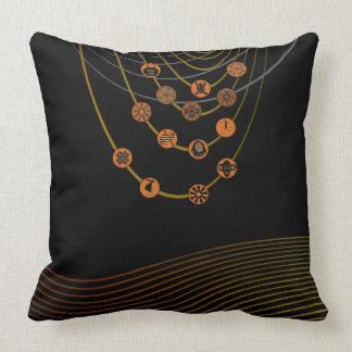 "Tribal symbols  Throw Pillow 20"" x 20"""