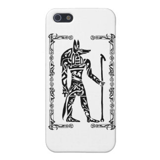Tribal Tattoo Anubis Case For iPhone SE/5/5s