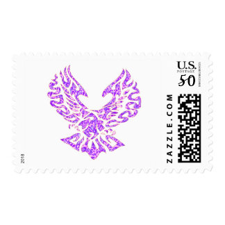 Tribal Tattoo Bird Postage