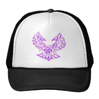 Tribal Tattoo Bird Trucker Hat