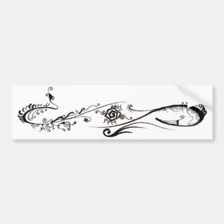 Tribal Tattoo Bumper Stickers