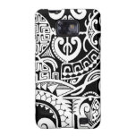 Tribal tattoo case with Polynesian patterns Galaxy S2 Cover
