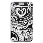 Tribal tattoo case with Polynesian patterns iPod Case-Mate Case