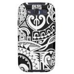 Tribal tattoo case with Polynesian patterns Samsung Galaxy S3 Covers