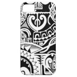 Tribal tattoo case with Polynesian patterns iPhone 5 Covers