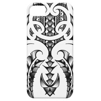 Tribal tattoo design in Maori & Samoan style iPhone 5 Cases