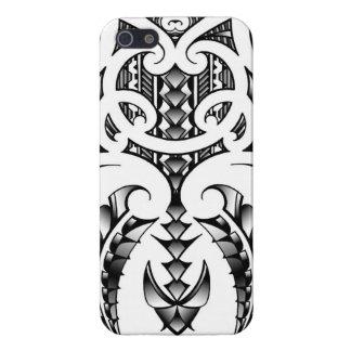 Tribal tattoo design in Maori & Samoan style iPhone 5 Covers