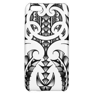 Tribal tattoo design in Maori & Samoan style iPhone 5C Cover