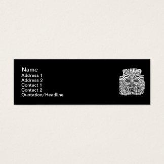 Tribal Tattoo Design - New Zealand Maori Mini Business Card