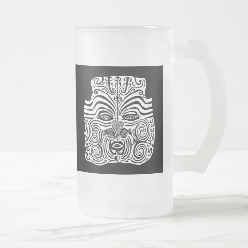 tribal tattoo design new zealand maori coffee mugs zazzle. Black Bedroom Furniture Sets. Home Design Ideas