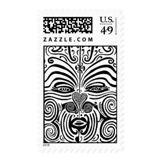 Tribal Tattoo Design - New Zealand Maori Postage