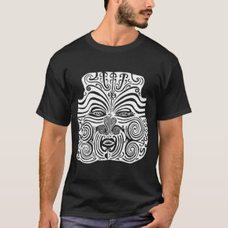 Tribal Tattoo Design - New Zealand Maori T-Shirt