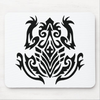 Tribal Tattoo Frog Mouse Pads