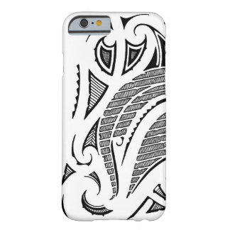 Tribal tattoo mauri moko design barely there iPhone 6 case