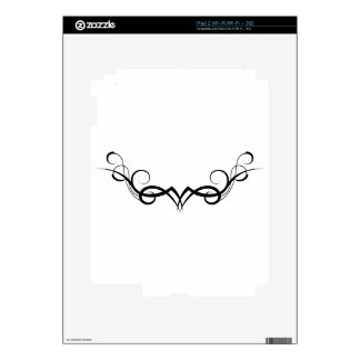 tribal tattoo motive decals for the iPad 2