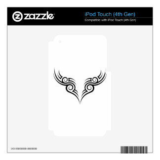 tribal tattoo motive iPod touch 4G decals