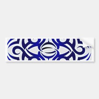 Tribal Tattoo pattern Bumper Stickers