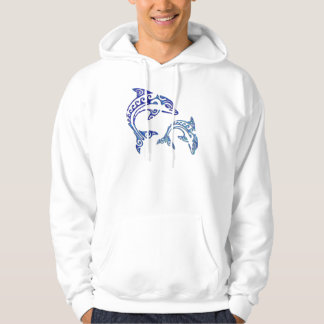 Tribal Tattoo Porpoise Duo Pullover